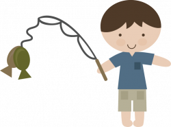 Fishing SVG Cutting Files | Boy Fishing SVG file for scrapbooking ...