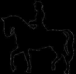 horse rider silhouette clipart | Kentucky Derby | Pinterest ...