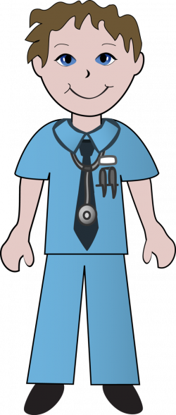 28+ Collection of Male Nurse Clipart Images | High quality, free ...