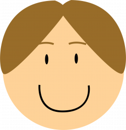 Clipart - Smiling Boy