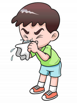 Common cold Royalty-free Clip art - Cartoon illustration baby fever ...