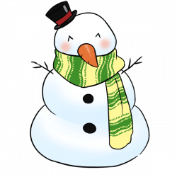 Cute Snowman Clipart at GetDrawings.com | Free for personal use Cute ...