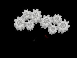 Clipart - Gear brain