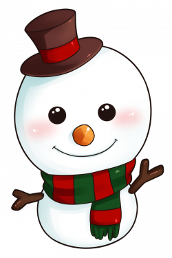 Cute Snowman Clipart Free collection   Download and share Cute ...