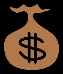 Money Bag Icon Clipart | i2Clipart - Royalty Free Public Domain Clipart