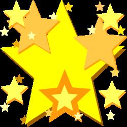 Yellow Star | Yellow Stars clip art - vector clip art online ...