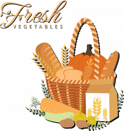 Milk Common wheat Bread Food Gift Baskets Clip art - Bread, milk ...