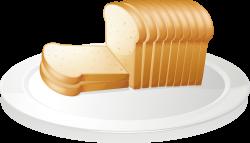 Toast Cheese sandwich Baguette Sliced bread Clip art - Bread ...