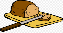 Download bread breakfast cartoon clipart Banana bread ...