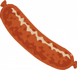 Sausage Clip Art at Clker.com - vector clip art online, royalty free ...
