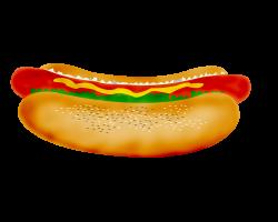 Hot Dog Cookout Clip Art free   hot dog   fast food clip art ...
