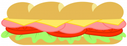 28+ Collection of Subway Sandwich Clipart   High quality, free ...