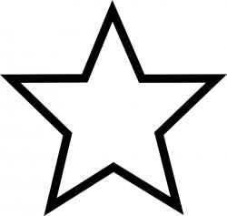 Five-pointed star Computer Icons Drawing Clip art - WHITE STARS 980 ...