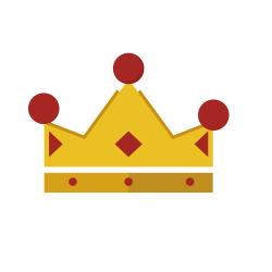 Crown Coroa Vermelha Red Clip art - Red Diamond Crown 1500*1500 ...