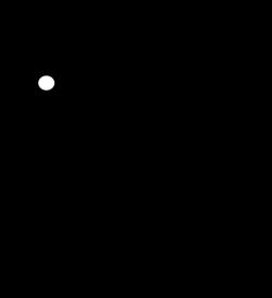 Black Bunny Clip Art at Clker.com - vector clip art online, royalty ...