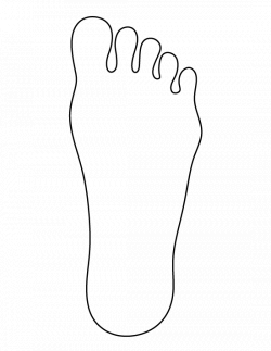 foot outline template - Acur.lunamedia.co