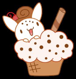 Bunny Icecream by Daieny.deviantart.com on @DeviantArt | ่ีิjubchay ...