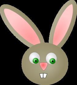 Cute Bunny Rabbit Clip Art at Clker.com - vector clip art online ...