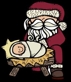 MelonHeadz: Santa and Jesus :)