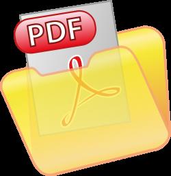 Clipart - Save PDF Icon