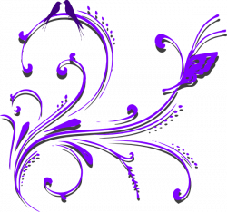 Purple Butterfly Border Clipart   Clipart Panda - Free Clipart Images