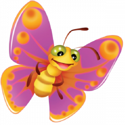 28+ Collection of Cute Butterfly Clipart For Kids | High quality ...