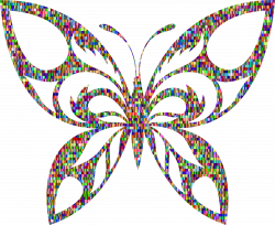 Butterfly Silhouette Clip Art at GetDrawings.com | Free for personal ...