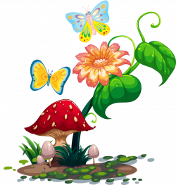 16.png | Mushrooms, Clip art and Decoupage