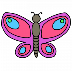 28+ Collection of Butterfly Clipart For Kids | High quality, free ...