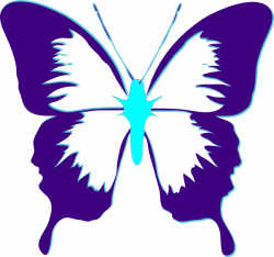 Purple K | Butterfly Purple And Teal clip art | EVERYTHING PURPLE ...