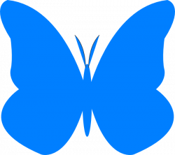 Bright Butterfly Clip Art at Clker.com - vector clip art online ...