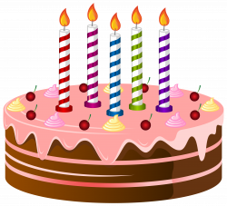 Birthday Cake PNG Clip Art Image | Gallery Yopriceville - High ...
