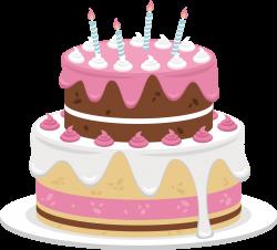 Birthday cake Cream Bakery - Sweet pink cake 2717*2464 transprent ...