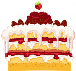 Strawberry Cake PNG Clipart | ClipArt | Pinterest | Strawberry cakes ...