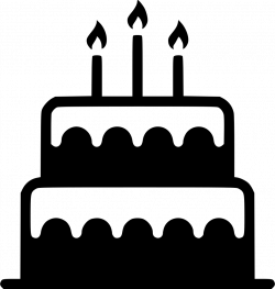 Black And White Birthday Candle Clip Art. Cool Clipart Birthday Cake ...