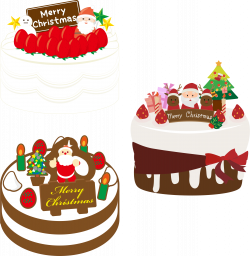 Clipart - Japanese Christmas Cake (#2)