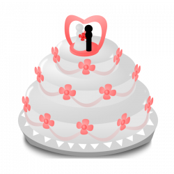 Wedding Cake Clipart - Free Graphics for Weddings
