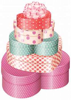 Heart Gift Boxes PNG Clipart - Best WEB Clipart