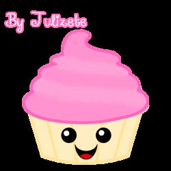 Kawaii Cupcake by Julizete on DeviantArt