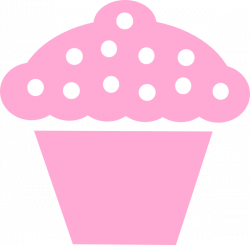 Pink clipart cup cake - Pencil and in color pink clipart cup cake