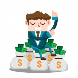 Business Man With Money, Business, People, Man PNG and Vector for ...