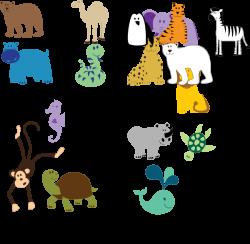 Bear Camel Hippo Snake Clip Art at Clker.com - vector clip art ...