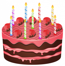 Birthday Cake Clip Art PNG Image | Gallery Yopriceville - High ...