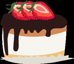 Chocolate cake Strawberry cream cake Birthday cake Shortcake Clip ...