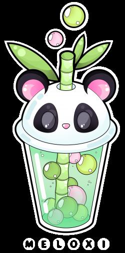 panda_bubble_tea_by_meloxi-d9vat7c.png 2,110×4,256 pixels ...