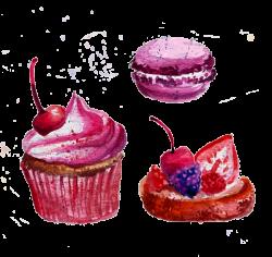 Macaron Watercolor painting Download Clip art - ice cream 600*567 ...