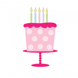 28+ Collection of Girl With Birthday Cake Clipart | High quality ...
