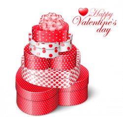 Valentines Heart Gift Boxes PNG Clipart Picture | Geskenke ...