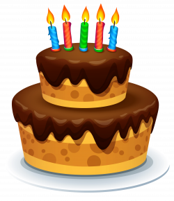 Cake with Candles PNG Clipart Image   Gallery Yopriceville - High ...