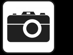 Black and white Camera Clipart - ClipartBlack.com
